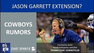 Cowboys Rumors & News: Jason Garrett Extension, Cole Beasley Injury & Losing Kris Richard