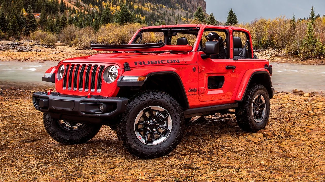 New Jeep Wragler's Half Doors Won't Be Available Until ...