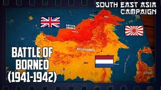WW2 in South-East Asia | Battle of Borneo (1941-1942)