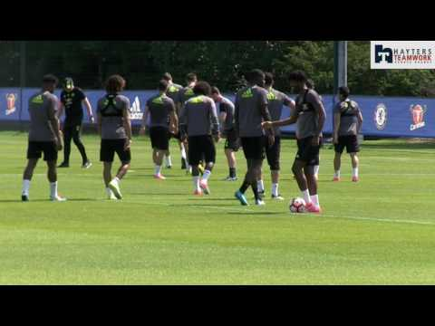 Chelsea in relaxed mood ahead of FA Cup final