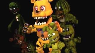 "FNaF World adventure character sing ""Another five nights"" by J.T.Michinima"