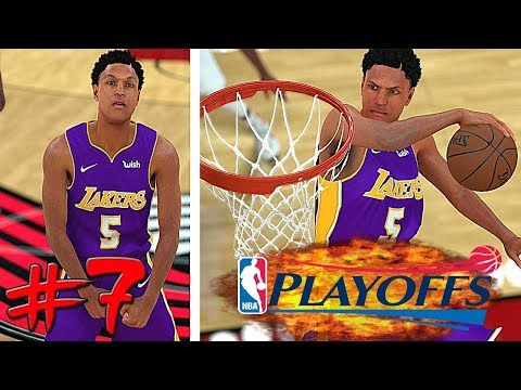 NBA 2K18 My Career Ep. 7 NBA Playoffs R1G4 | Lakers Are Sleepers in the NBA Playoffs 2018!