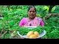 Vegetable Recipe: Long Bean Fried with Potatoes Village Cooking Recipe by Village Food Life