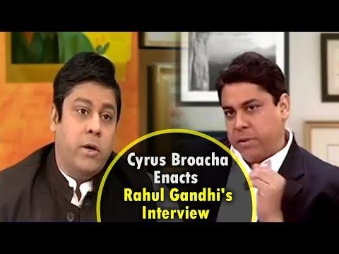 Cyrus Broacha Enacts Rahul Gandhi's Interview || The Week That Wasn't || CNN News18