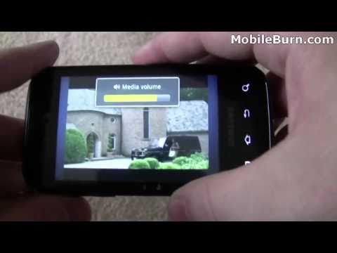 Sprint Samsung Transform unboxing and feature tour