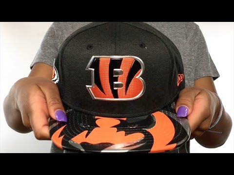 Bengals  2017 NFL ONSTAGE SNAPBACK  Hat by New Era - YouTube 43e9550a3