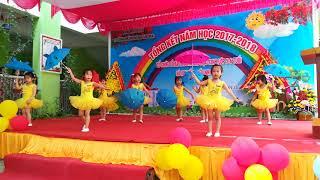 Múa Cơn Mưa Hè - Các bé lớp Vành khuyên - Trường mầm non Ban mai Z111