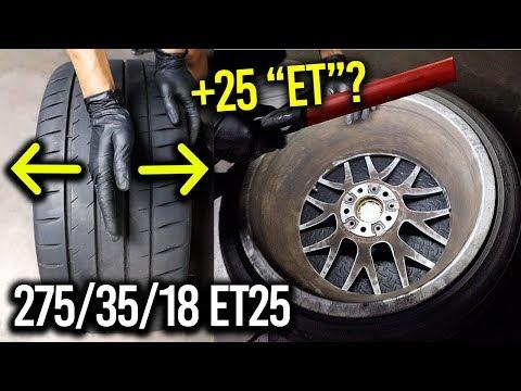 Explaining Wheel Fitment (
