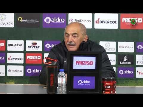 Vítor Oliveira antevê partida com a UD Oliveirense