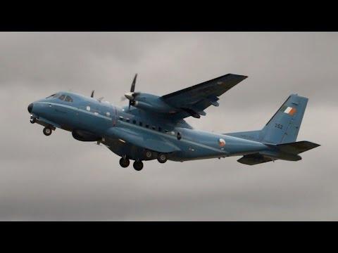 CASA IPTN CN-235M-100 Irish Air Corps departure at RIAT 2015 AirShow
