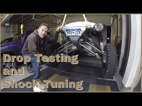 Drop Testing and Tuning the Front Suspension (Baja Bug)