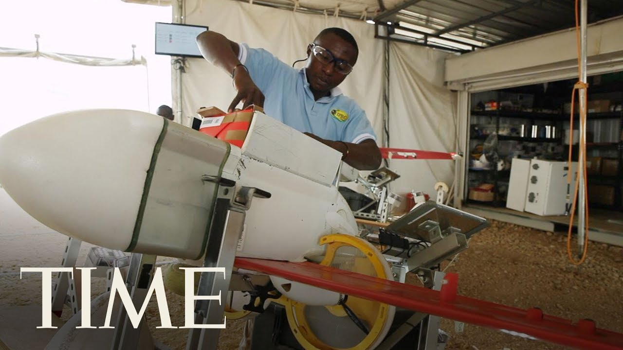 How A Hospital Drone Delivery Service Is Saving Lives In Rwanda | TIME