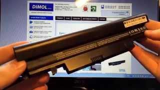 видео Аккумулятор для ноутбука Samsung N150 N148 N100 N143 N145
