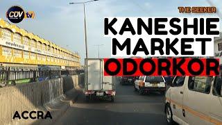 Odorkor - Kaneshie Market Highway Drive Accra Ghana Enjoy The Ride With The Seeker Ghana.