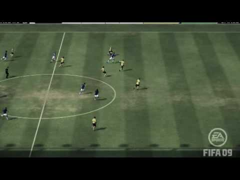 Lescott run from half way line vs west brom fifa 09