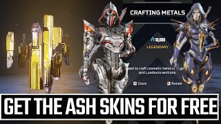 How To Get Fŗee Ash Skins In Apex Legends Season 11