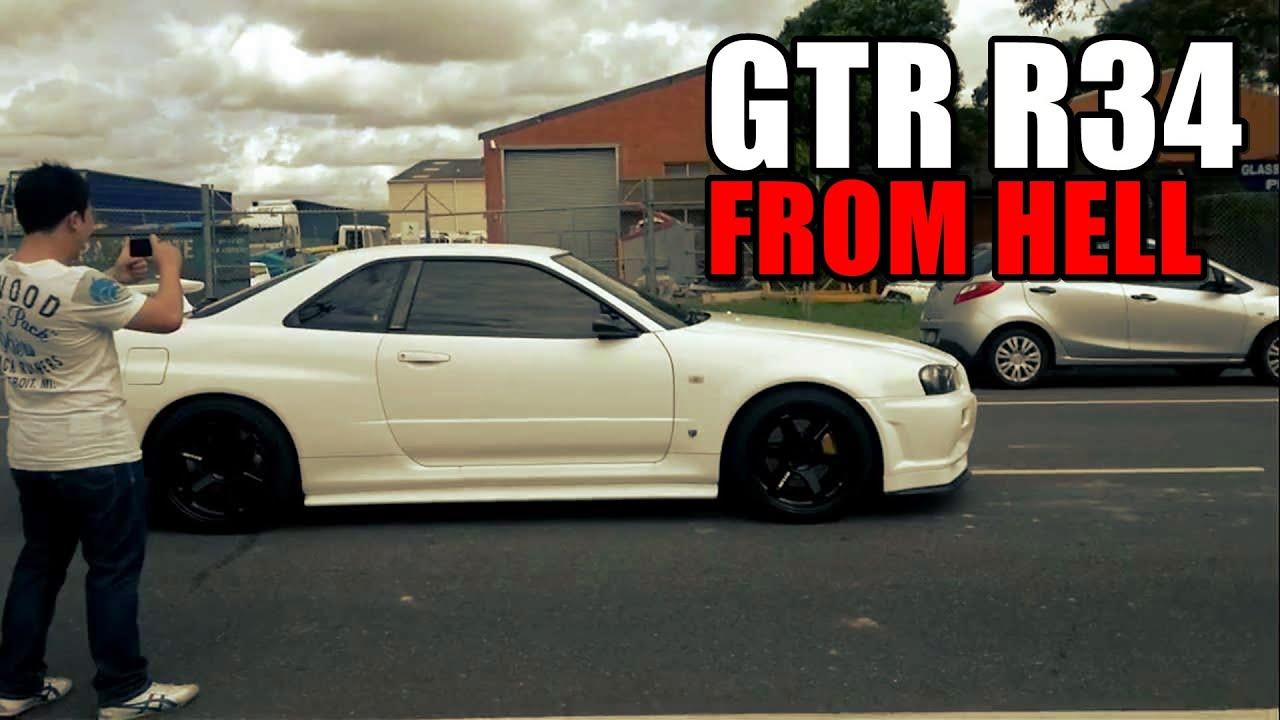 Nissan Skyline R34 Gtr From Hell | Autos Post