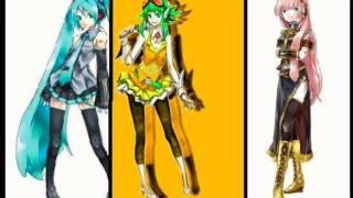 Coward Montblanc: GUMI/Megpoid, Hatsune Miku, Megurine Luka