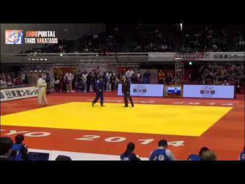 Judo Grand Slam Tokyo 2014 -90kg KUKOLJ Aleksandar (SRB) vs. IDDIR Alexandre (FRA)
