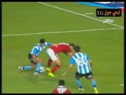 ركلة جزاء صحيحة غير محتسبة لعبد الله السعيد فى مباراة الاهلى والداخلية  penalty kick