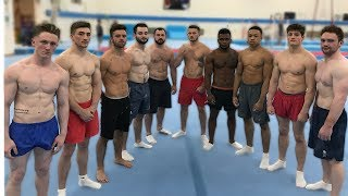 ULTIMATE GYMNASTICS CHALLENGE | Squad Edition by : Nile Wilson