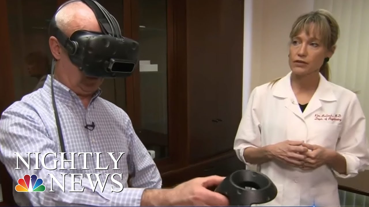 Can Virtual Reality Sessions Treat Chronic Pain? One Stanford Doctor Says  Yes | NBC Nightly News