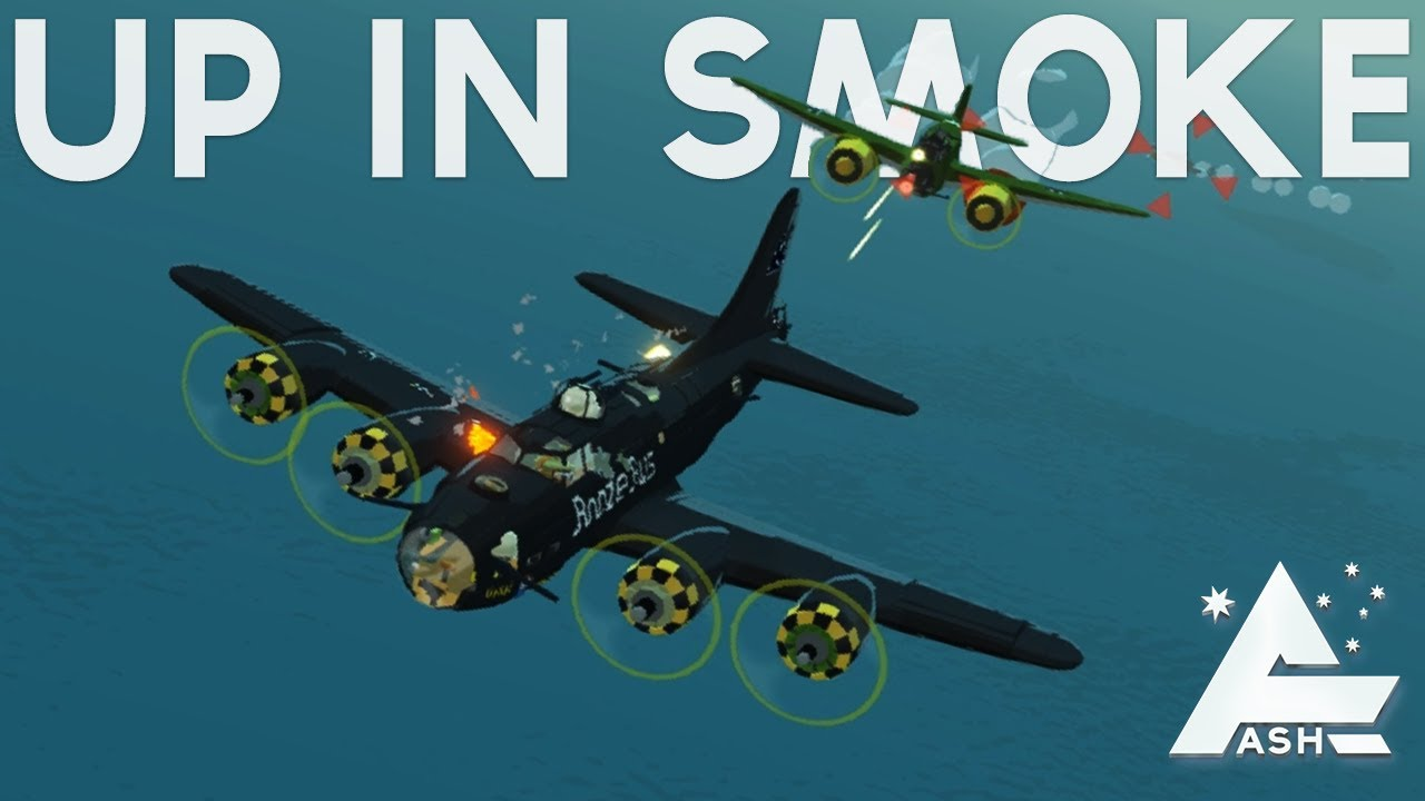 Bomber Crew - Fighters, Up in smoke