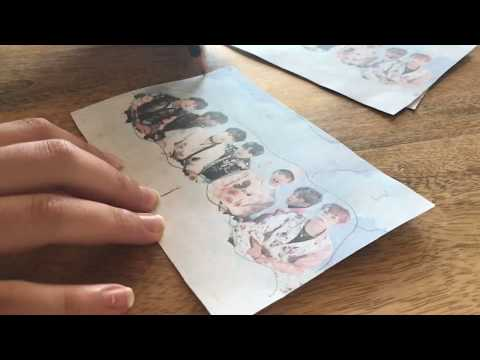 DIY BTS 3D EFFECT PHOTO FRAME!! BTS DIY