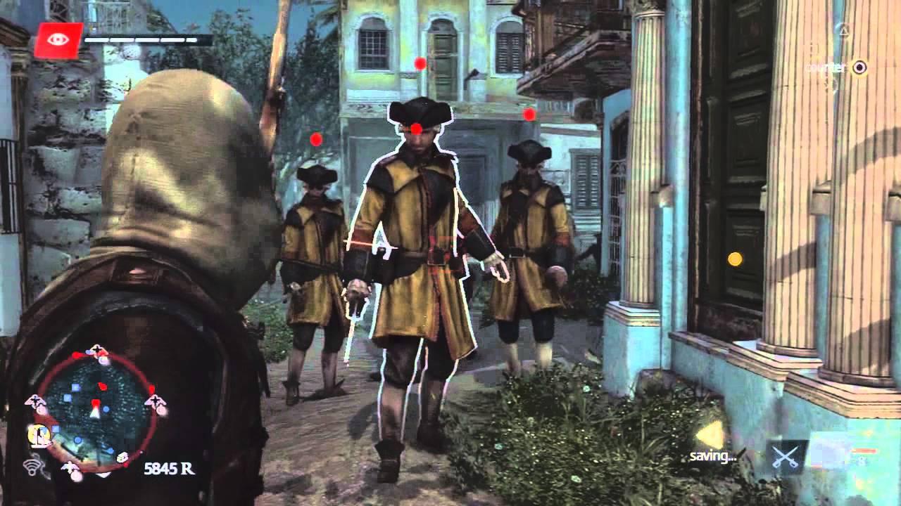 Assassin's Creed 4 Free Roam and Combat gameplay