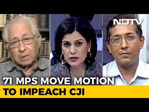 71 MPs Move Motion To Impeach Chief Justice: First Such Move In India's History