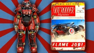 Fallout 4 - Hot Rod Flames Power Armor Paint Guide