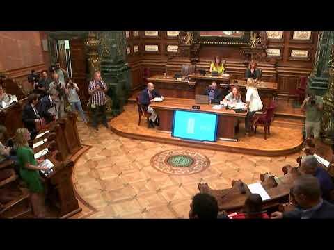Sessió extraordinària del Plenari del Consell Municipal 05/08/19