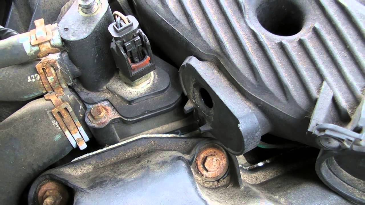Goregoon S Garage How To Change The Map Sensor On A 2005
