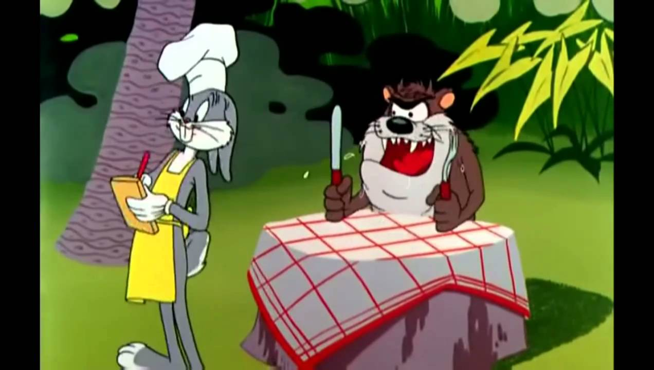 Wild Turkey Surprise Bugs Bunny and Taz Full Clip HD