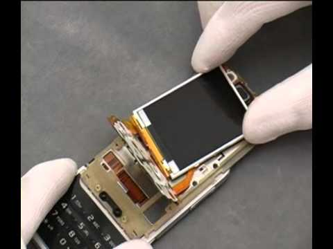 Sony Ericsson F305 Disassembly