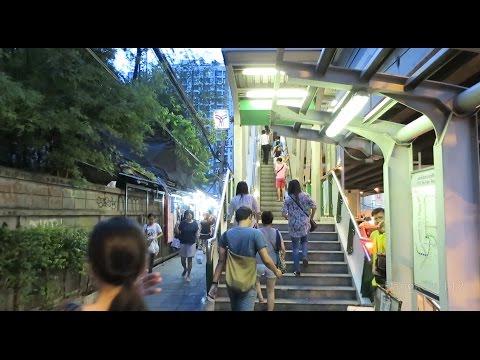 Bangkok Walk Around - On Nut Rush Hour - June 2015