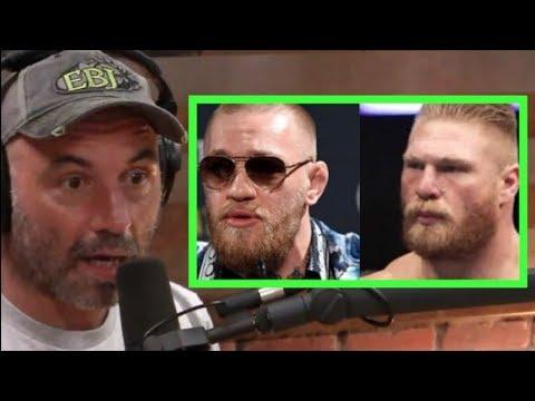 Joe Rogan - Conor McGregor is a Bigger Draw Than Brock Lesnar