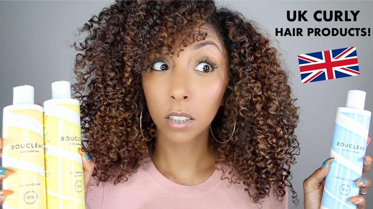 Uk Curly Hair Products Boucleme Review Biancareneetoday Youtube