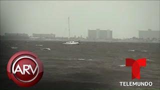 Huracán Dorian continúa su paso por la costa este de EEUU | Al Rojo Vivo | Telemundo