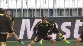 BVB Training in Malaga vor dem Champions League Spiel Malaga C.F.gegen Borussia Dortmund