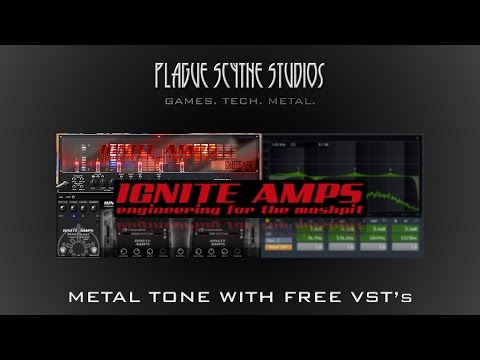 Modern Metal w/ Free Ignite Amps VST's - Tutorial