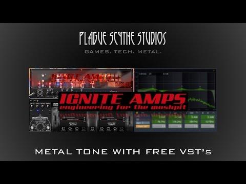 Metal Guitar w/ Free Ignite Amps VST's - Tutorial