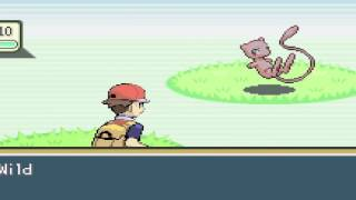 Pokemon Fire Red - How to Catch Legendary Mew - Secret Staircase Meseum S.S. Anne