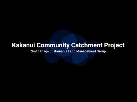 NOSLaM Kakanui Water Catchment Community Project