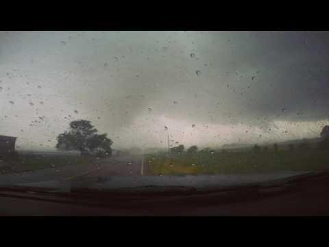 Intense Eustace TX EF3 Tornado *Language Warning*