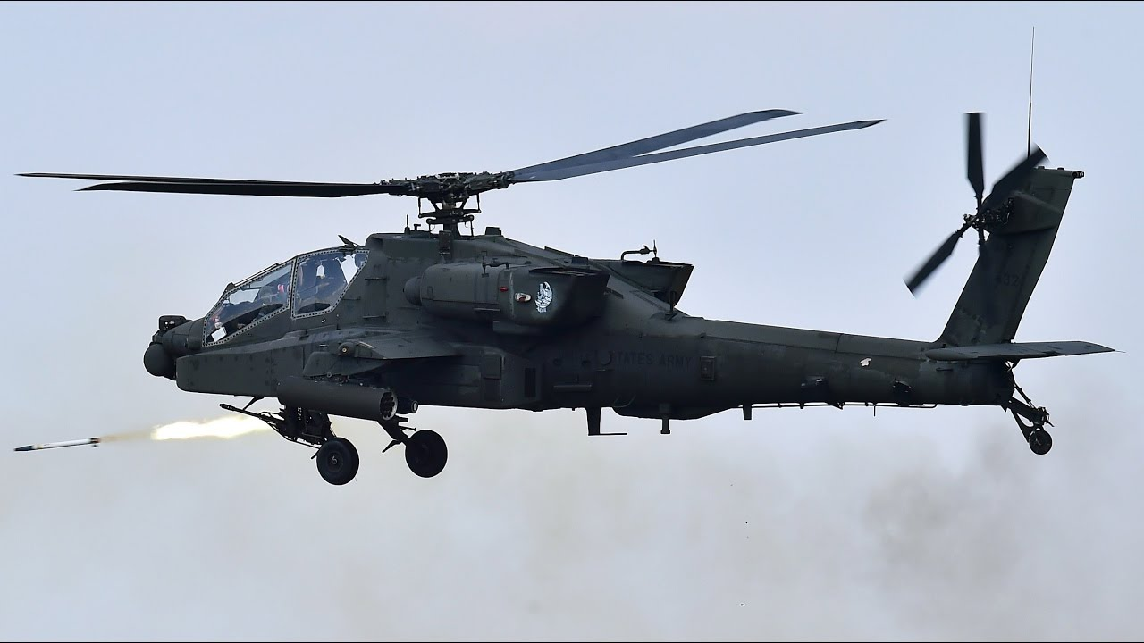 The Boeing AH-64 apache helicopter | Military Machines - YouTube