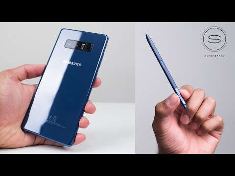 Download Youtube: Samsung Galaxy Note 8 - First Look & Impressions