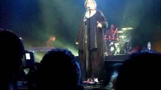 Tired-Adele forgets lyrics- Metropolis 04.28.09