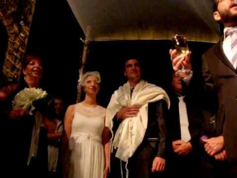 idan and dana wedding chuppah video by avi youtube