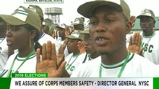 We assure of Corp members safety - NYSC DG